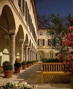 Via Gesù - Milano - Trattamento problemi umidità di risalita portico interno e ambienti a piano terra