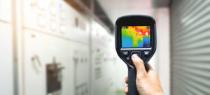 Rilevamento dell'umidità nei muti con termocamere