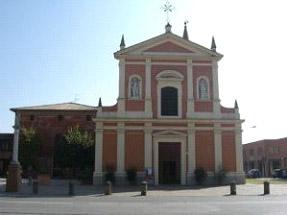 Calderara di Reno - Bologna - Soluzione problemi umidità di risalita alla base dei muri della chiesa