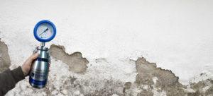 Metodo al carburo di calcio | Eliminazione umidità di risalita | la fase di misurazione preliminare