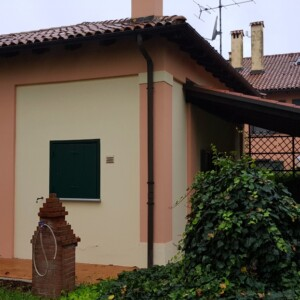 Centralina elettrica per risolvere umidità sui muri in abitazione privata provincia di Bologna