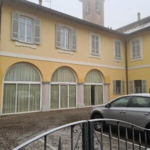 Le nuove vetrate con arcate ISTITUTO SUORE DOMENICANE DEL SS. ROSARIO Melegnano